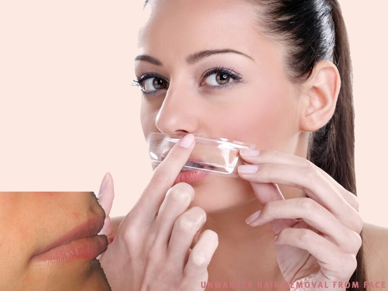 Facial hair removal tips