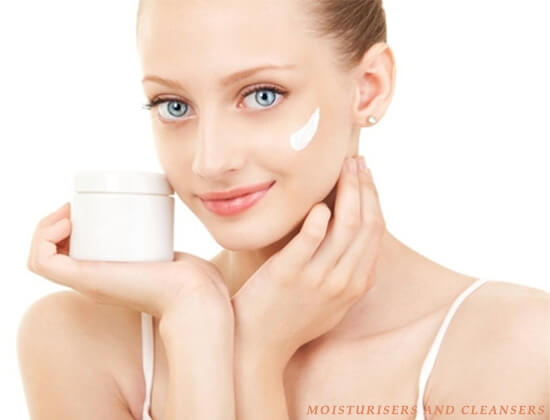 Cleanser and Moisturizer