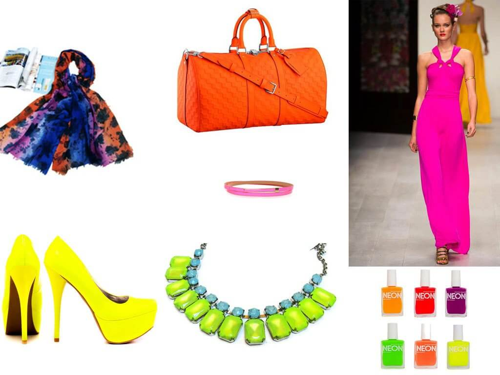 Neon Coloured Accessories