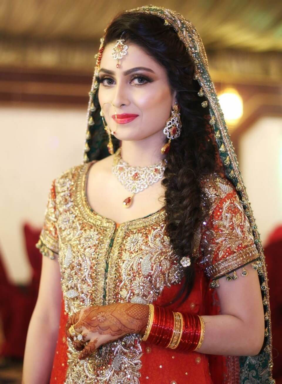 hairstyles for mehndi party function » fashion tips
