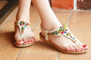 Fancy Flat Sandals
