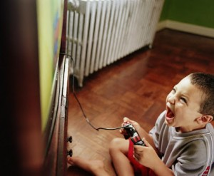 Playing video games too much makes kids violent.