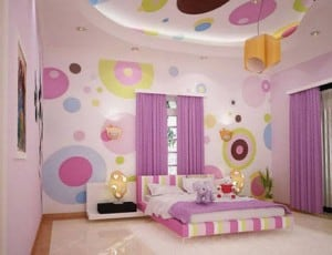 Ideas for colorful bedrooms.